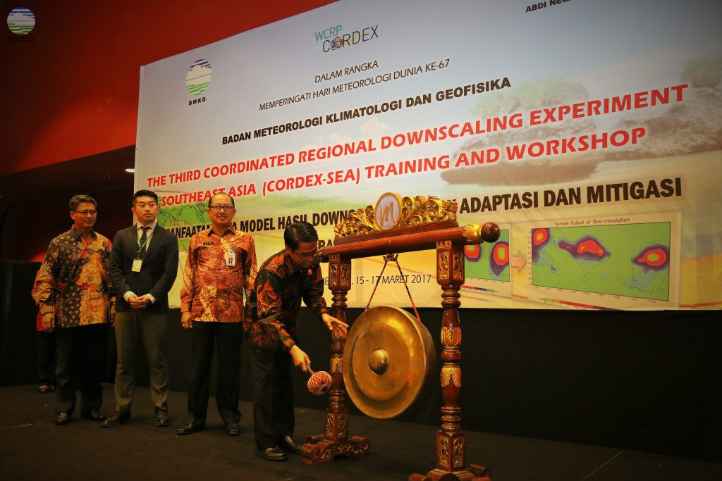 The Third CORDEX SEA Training and Workshop