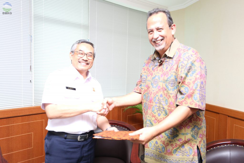 Partnership Agreement BMKG dengan IOC-UNESCO