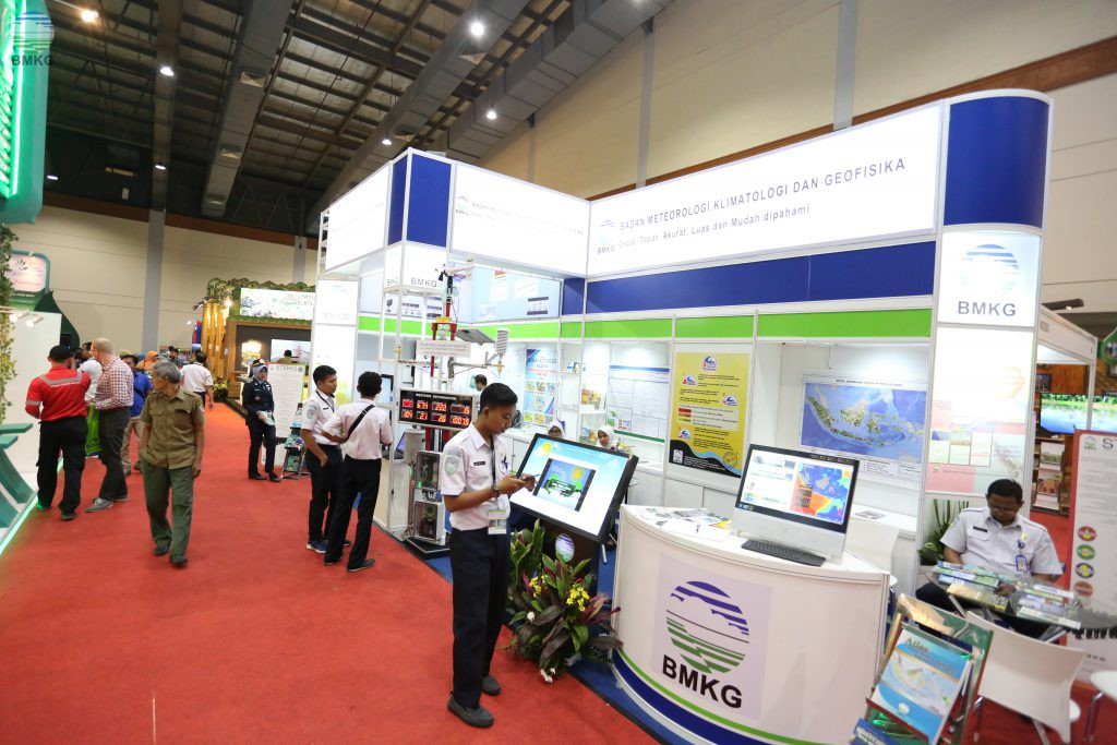 BMKG Ikuti Pameran IndoGreen Environment and Forestry Expo 2017