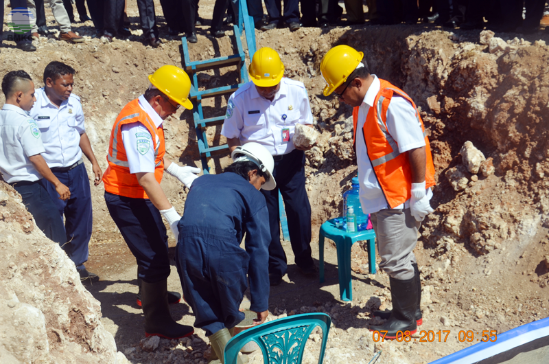 Ground Breaking Gedung Layanan MKG Di Kupang