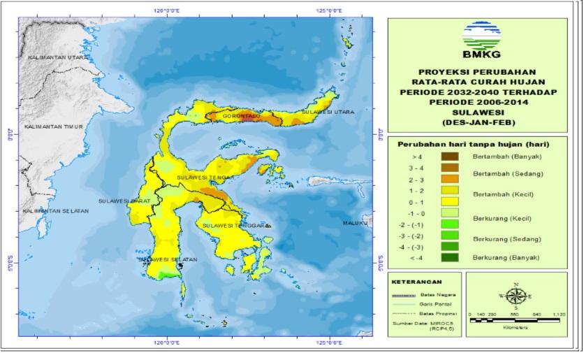 Perubahan CH Sulawesi