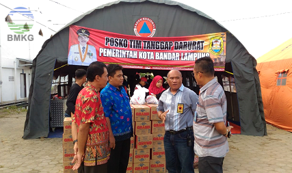 Proaktif BMKG Lampung dalam Penanganan Pasca-Tsunami di Selat Sunda