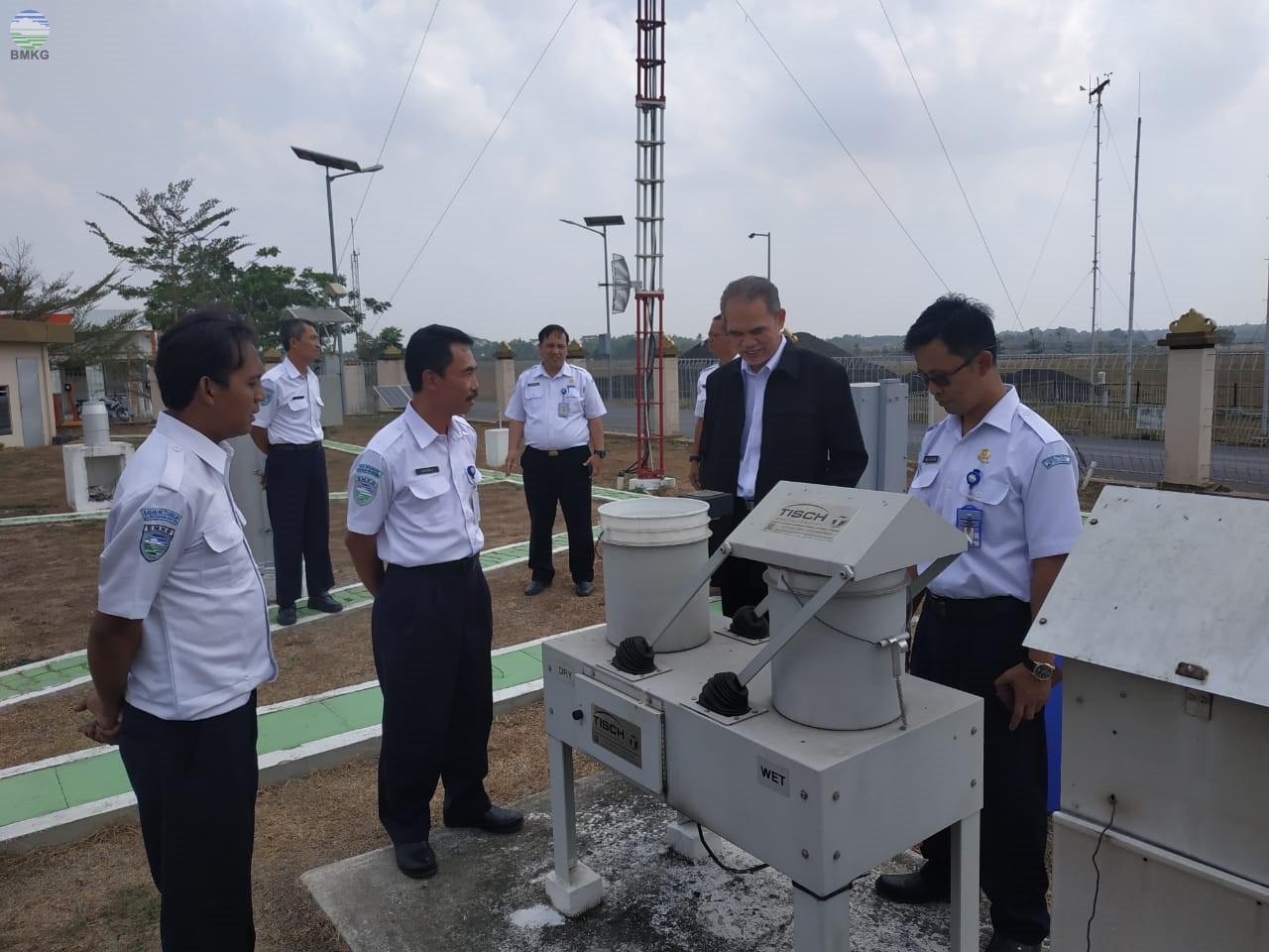 Kunjungan Kerja Deputi Bidang Klimatologi ke Provinsi Lampung