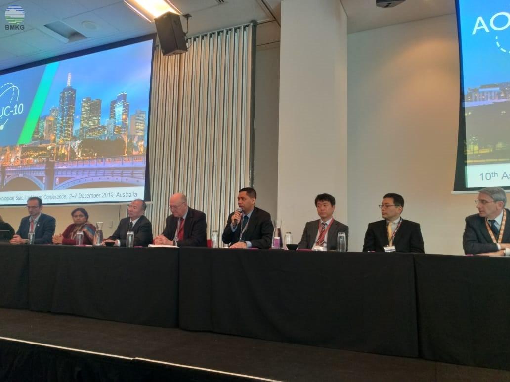 BMKG Berpartisipasi dalam Konferensi AOMSUC ke-10