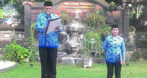 Balai Besar MKG Denpasar Lakukan Upacara Lahirnya Pancasila