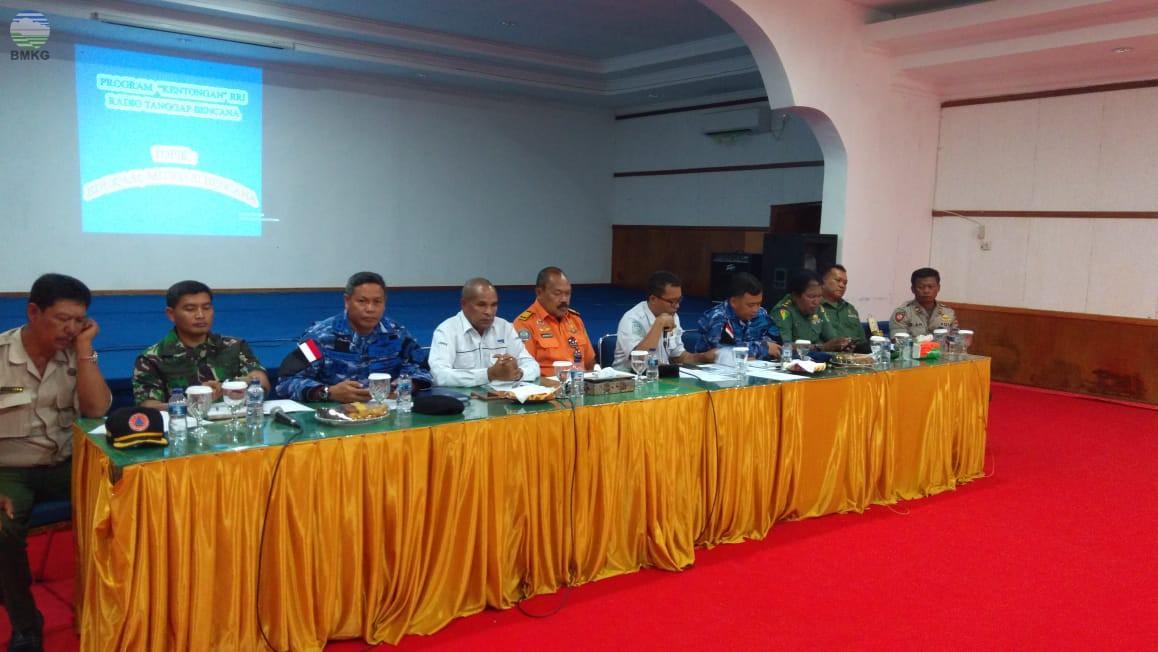 Partisipasi Stamet Biak Numfor dalam Program Interaktif Kentongan Tanggap Bencana RRI