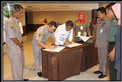BMKG Sumbar Jalin Kerjasama Dengan Pengurus Daerah Radio Antar Pendduduk Indonesia Provinsi Sumbar