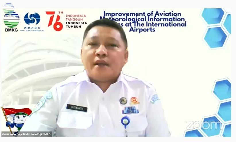 Deputi Bidang Meteorologi Buka OGD Pusat Meteorologi Penerbangan