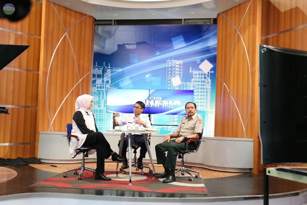 Wawancara LIVE TVRI Sekretaris Utama BMKG