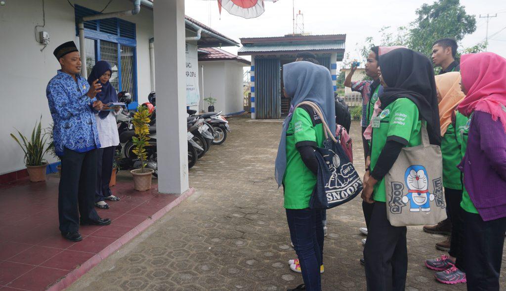 Kunjungan Praktikum Politeknik Negeri Ketapang keBMKG Rahadi Osman