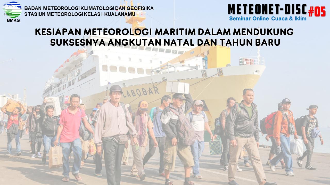 Stasiun Meteorologi Kualanamu Menyelenggarakan Seminar Online METEONET-DISC #05