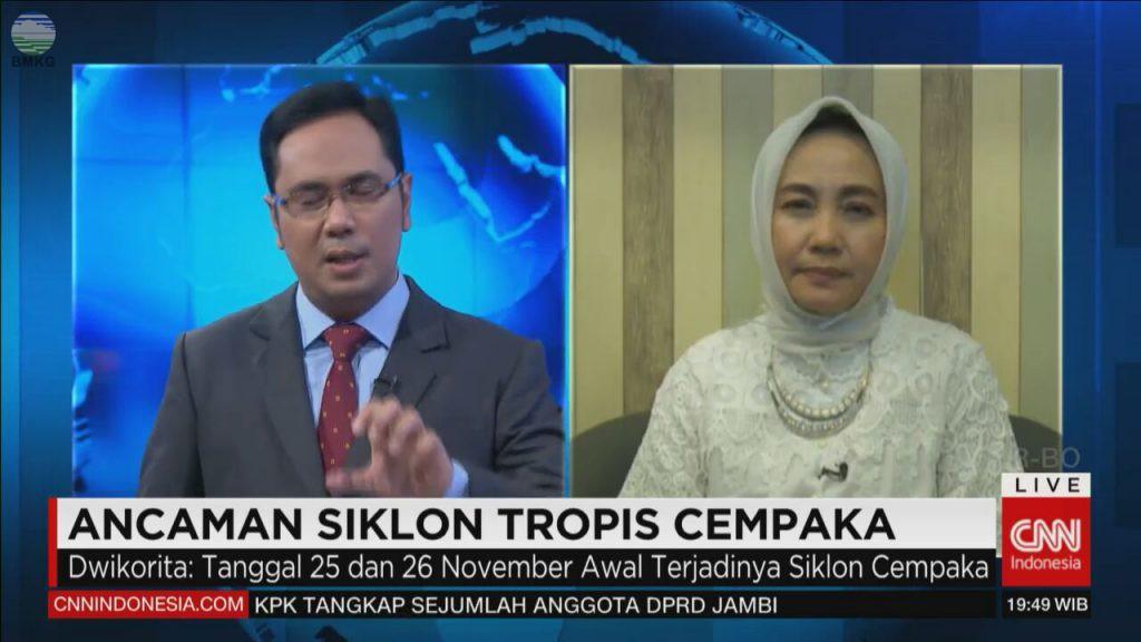 Bicara Cempaka, KBMKG Live di CNN