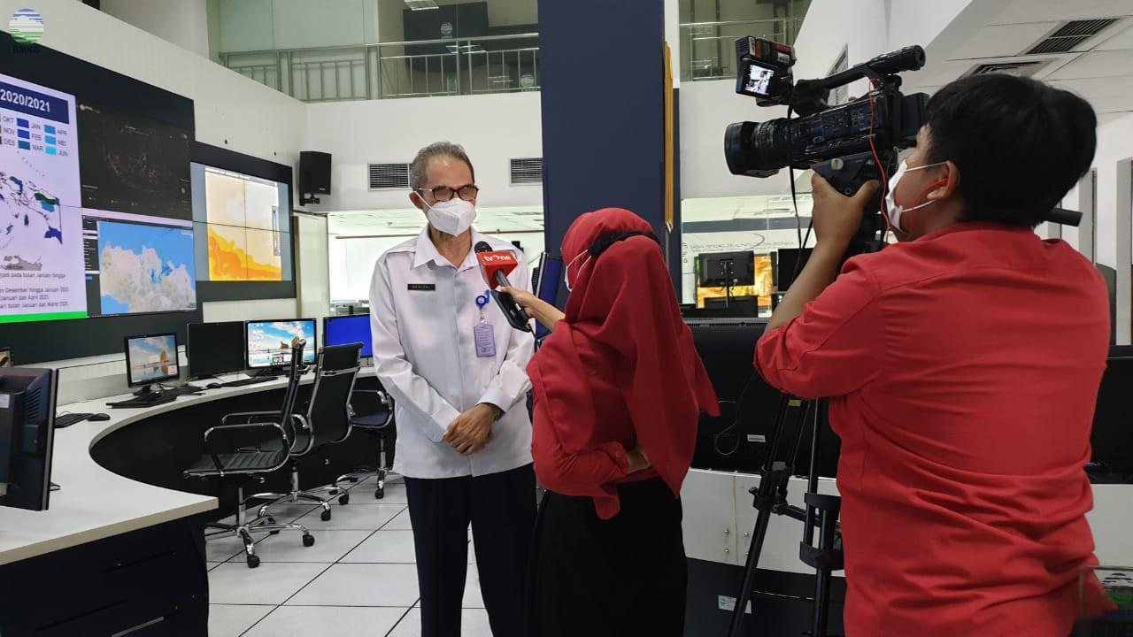 Seluruh Wilayah DKI Jakarta Masih Berpotensi Hujan Intensitas Lebat Sepekan ke Depan