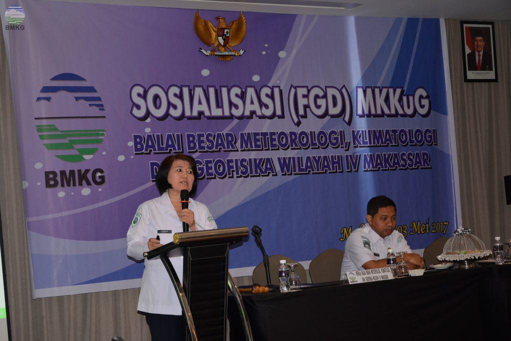 FGD, Informasi MKKUG BBMKG Wilayah IV Makassar Tahun 2017