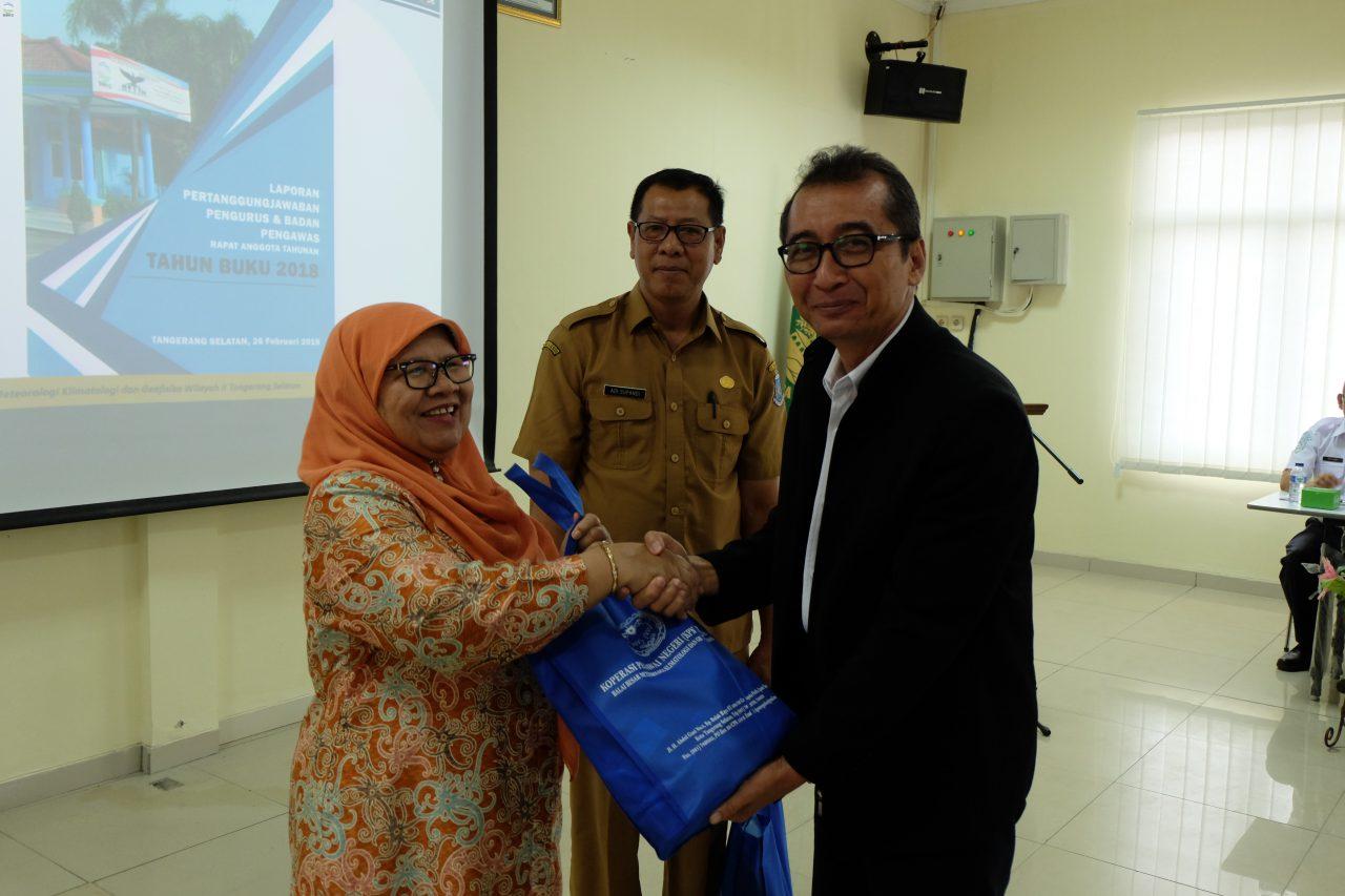 Rapat Anggota Tahunan KPN Megadua-BBMKG Wilayah II Tangerang Selatan