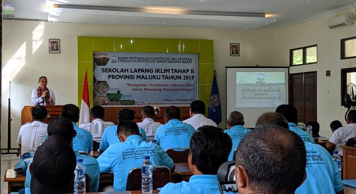 Sekolah Lapang Iklim (SLI) Tahap II Provinsi Maluku Tahun 2019