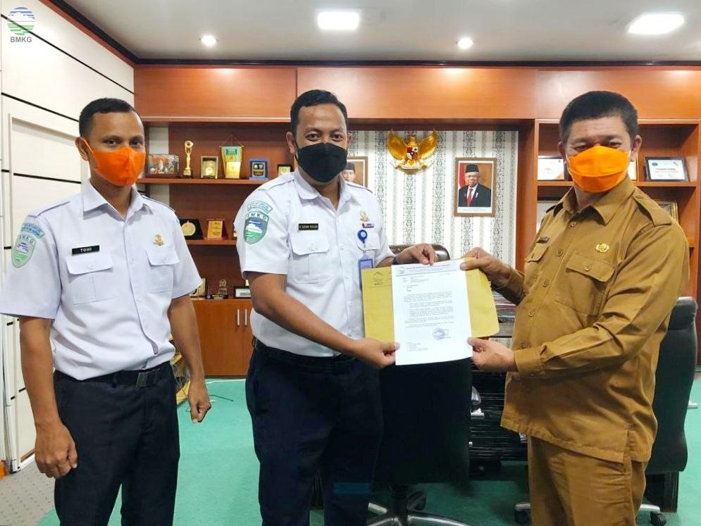 Perkuat Sistem Peringatan Dini Tsunami, Stasiun Geofisika Aceh Besar Jalin Kerja Sama Dengan BPBA