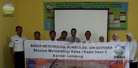 STAMET Kelas I Radin Inten II Lampung upgrading Certification of ISO 9001:2015