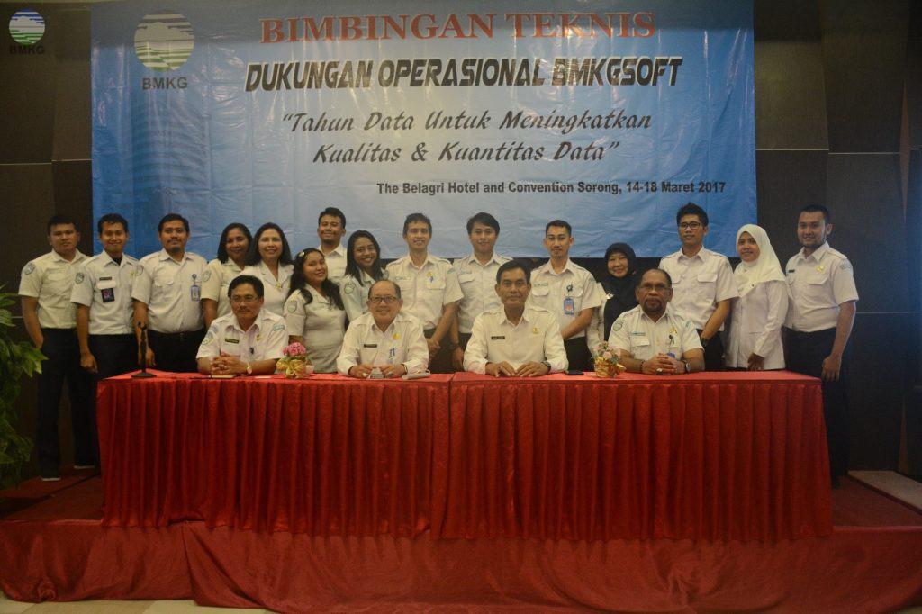 Bimbingan Teknis Dukungan Operasional BMKGSoft di Lingkungan Balai Besar MKG Wilayah V