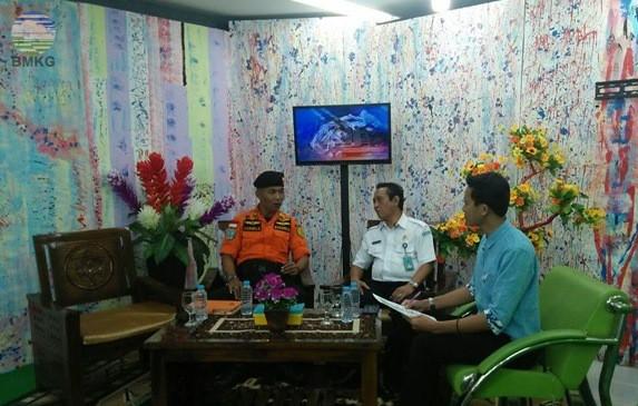 """Dialog 21 TVRI Bangka Belitung, """"Waspada Bencana Intai Negeri Laskar Pelangi"""""""