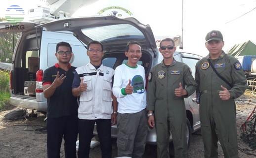 BMKG STAMET Serang  Dukung Kegiatan HUT KORPS Marinir TNI AL-ke-72 Melalui Informasi Cuaca