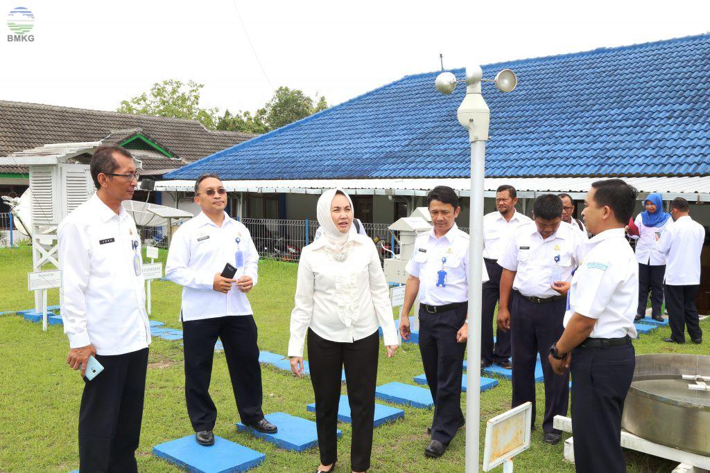 Kunjungan Kepala BMKG Ke Stageof Dan Staklim Yogyakarta