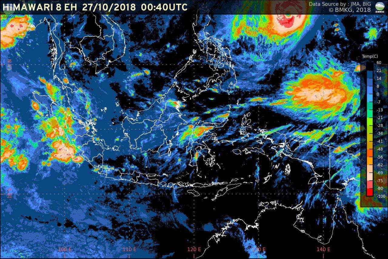Waspada Peningkatan Curah Hujan di Akhir Bulan Oktober
