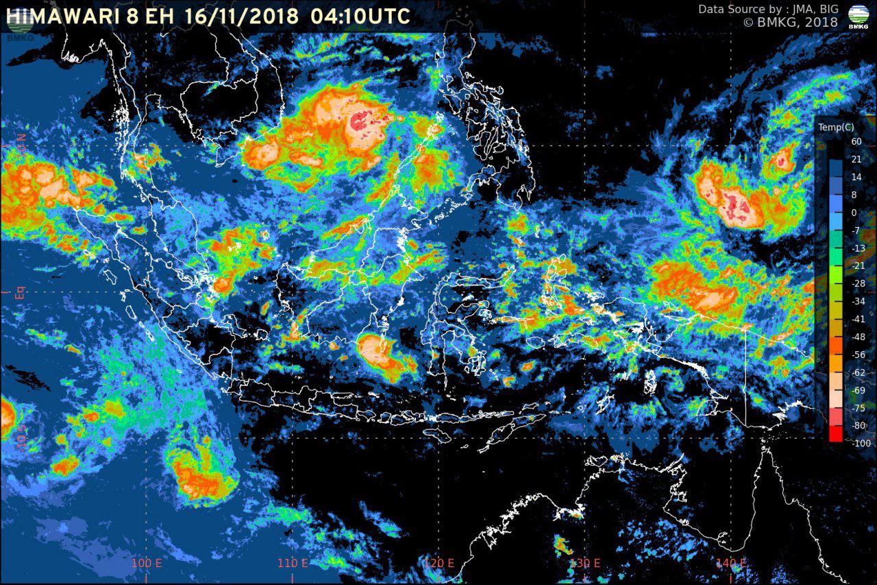 Hujan Lebat Masih Berlanjut Hingga 5 Hari ke Depan, Waspada Potensi Banjir dan Longsor di Sejumlah Wilayah Indonesia