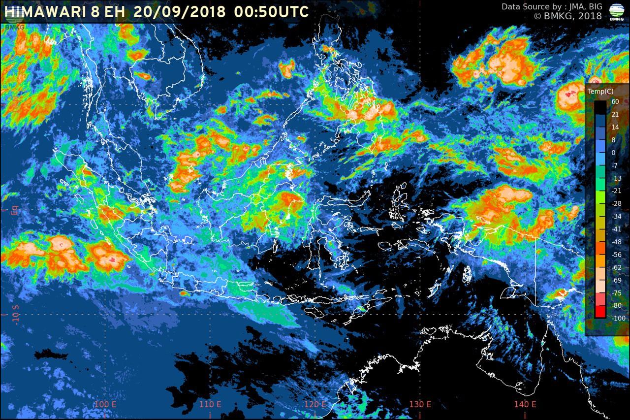Masyarakat Diimbau Mewaspadai Potensi Hujan Lebat di Sejumlah Wilayah Indonesia