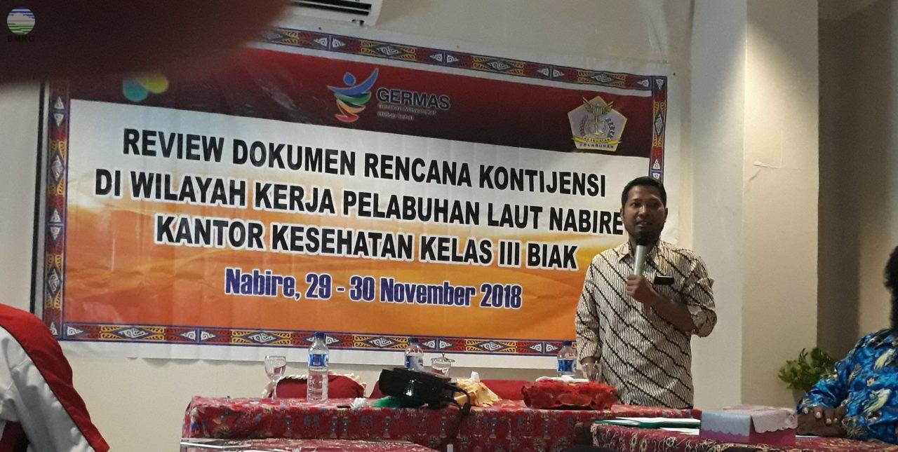 Review Dokumen Rencana Kontijensi di Wilayah Nabire