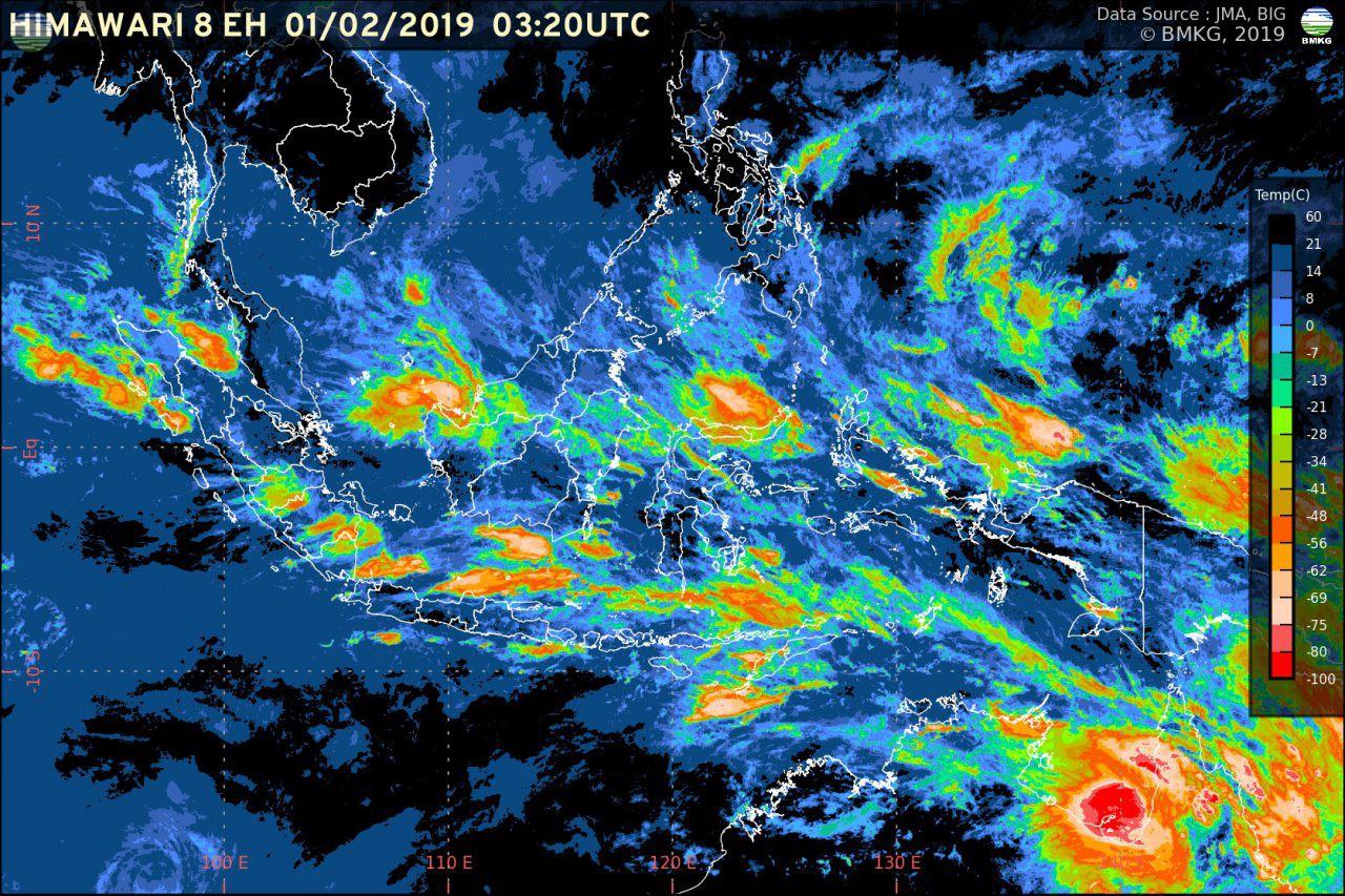 Perkembangan Kondisi Cuaca Indonesia Terkini
