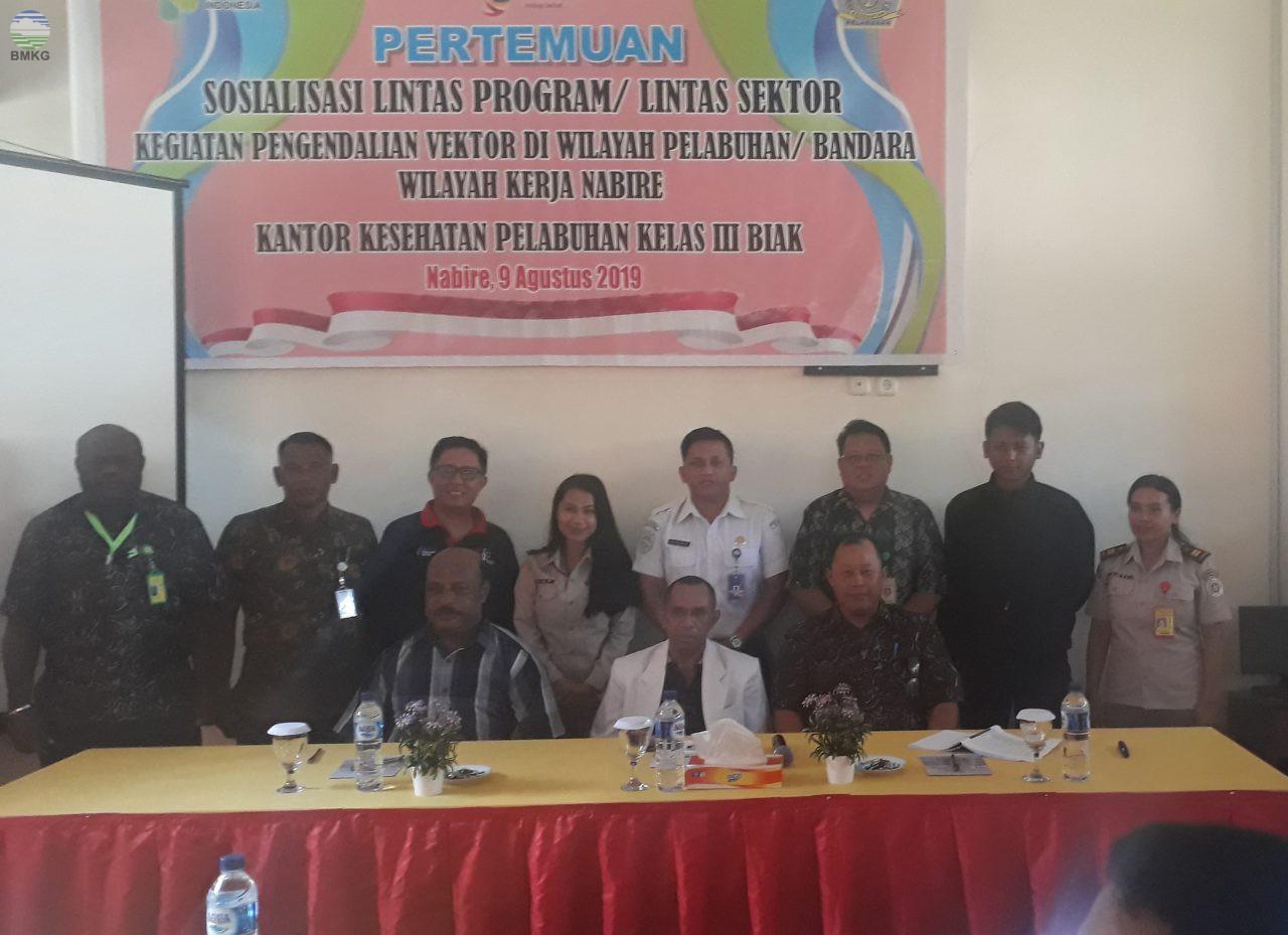 Sosialisasi Lintas Program Pengendalian Vektor di Wilayah Pelabuhan Nabire