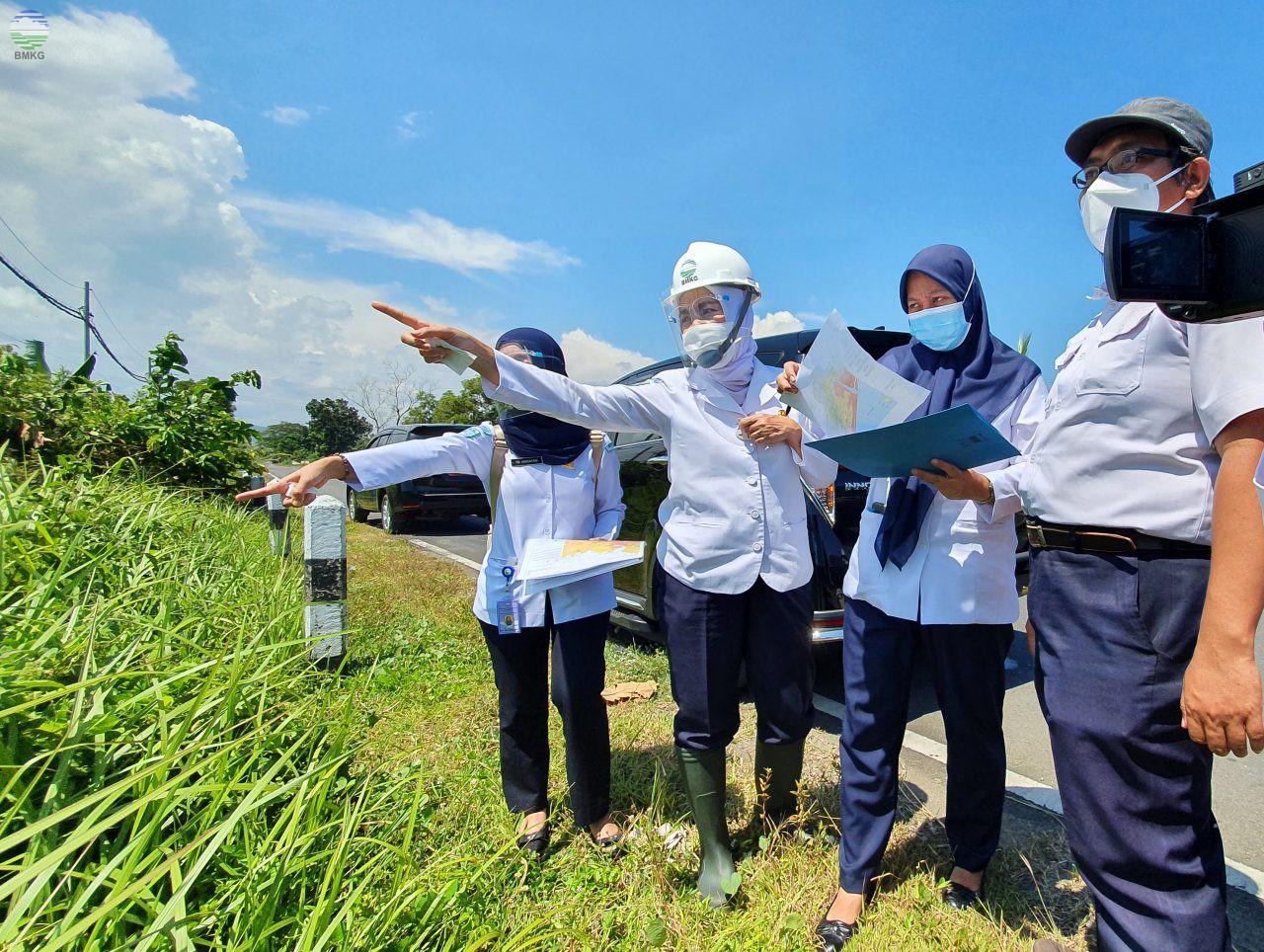 Tingkatkan Upaya Mitigasi Gempabumi dan Tsunami, Kepala BMKG Lakukan Verifikasi Peta Rawan Bencana di Kulon Progo