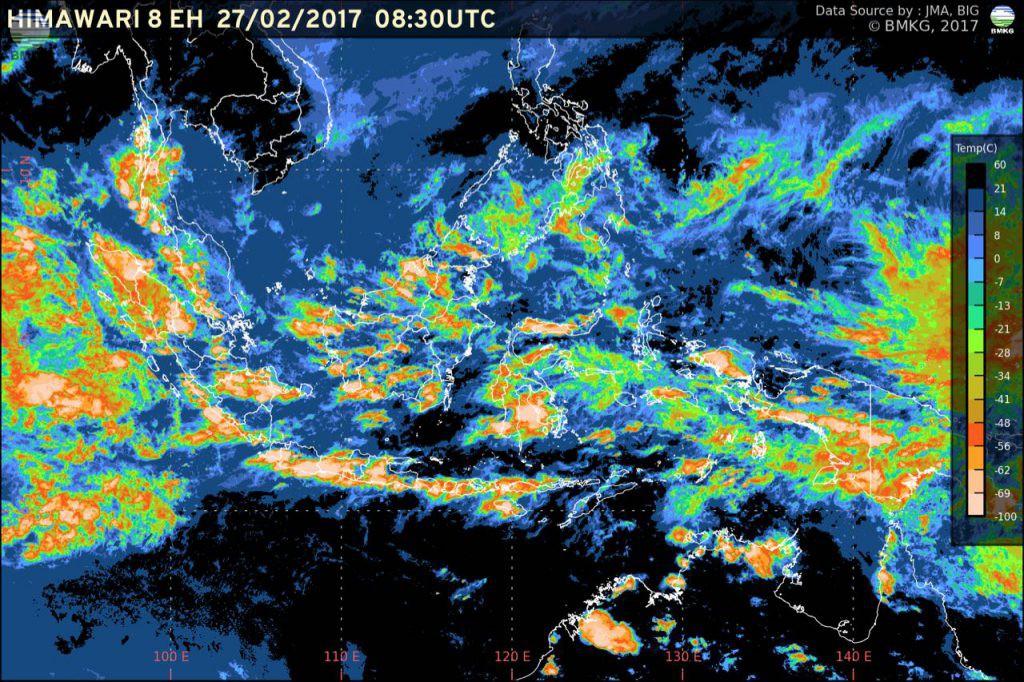 Siaran Pers : Update Perkembangan Kondisi Cuaca Indonesia (27 Februari 2017)