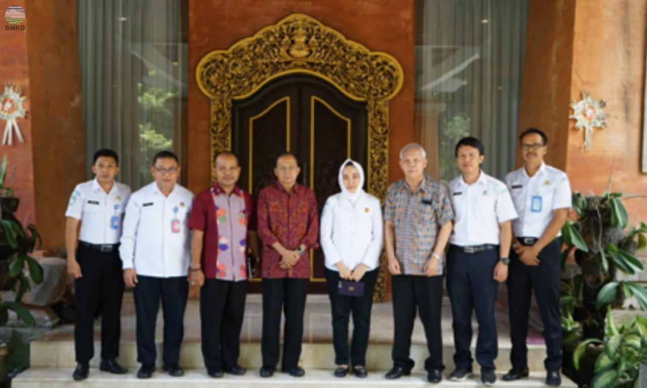 Perkuat Bali Sebagai Back Up InaTEWS, Kepala BMKG Lakukan Kunjungan Kerja ke Gubernur Prov. Bali