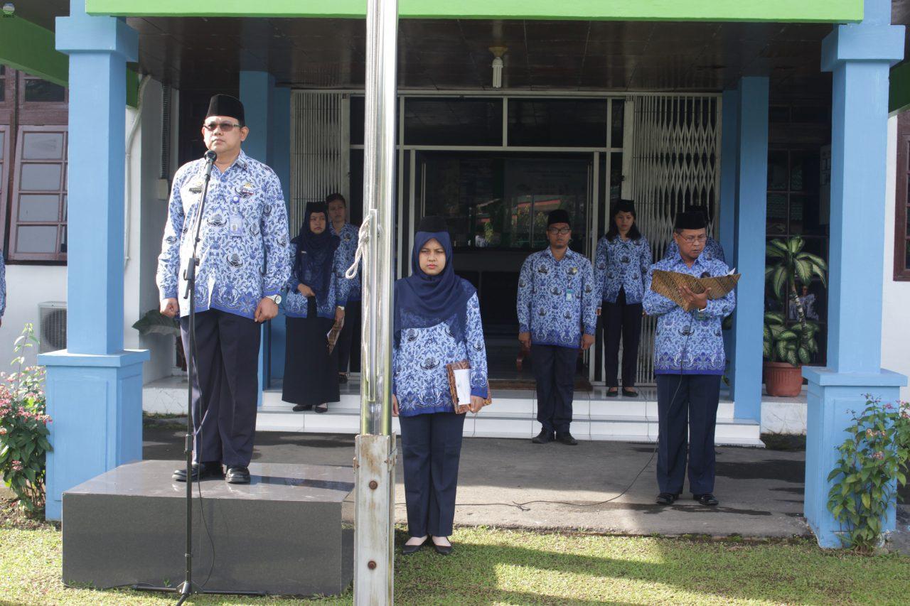 BBMKG  Wilayah I Medan Lakukan Upacara Sumpah Pemuda