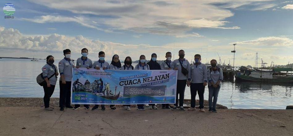 SLCN Papua Barat 2021, BMKG Sorong Targetkan Nelayan Produktif, Sehat dan Selamat