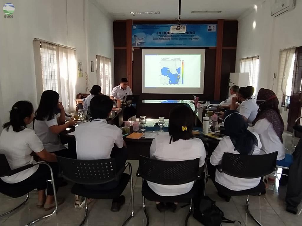 Tingkatkan Kapasitas SDM, Stasiun Meteorologi Kualanamu adakan In House Training
