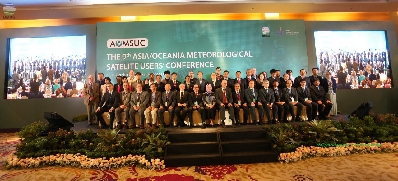 The 9th Asia/Oceania Meteorological Satellite Users Conference (AOMSUC-9)