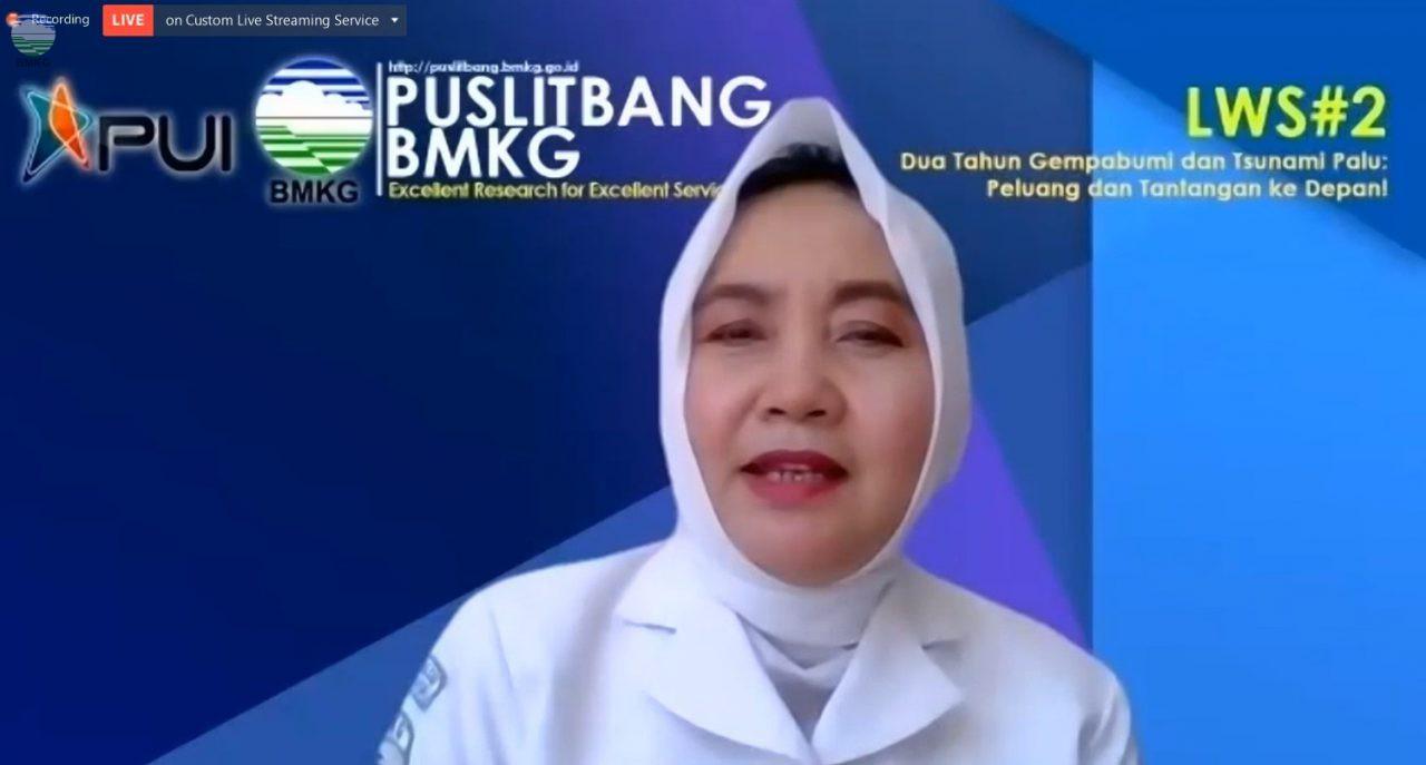 """Puslitbang BMKG Gelar Webinar """"Dua Tahun Gempabumi dan Tsunami Palu: Tantangan dan Peluang ke Depan"""""""