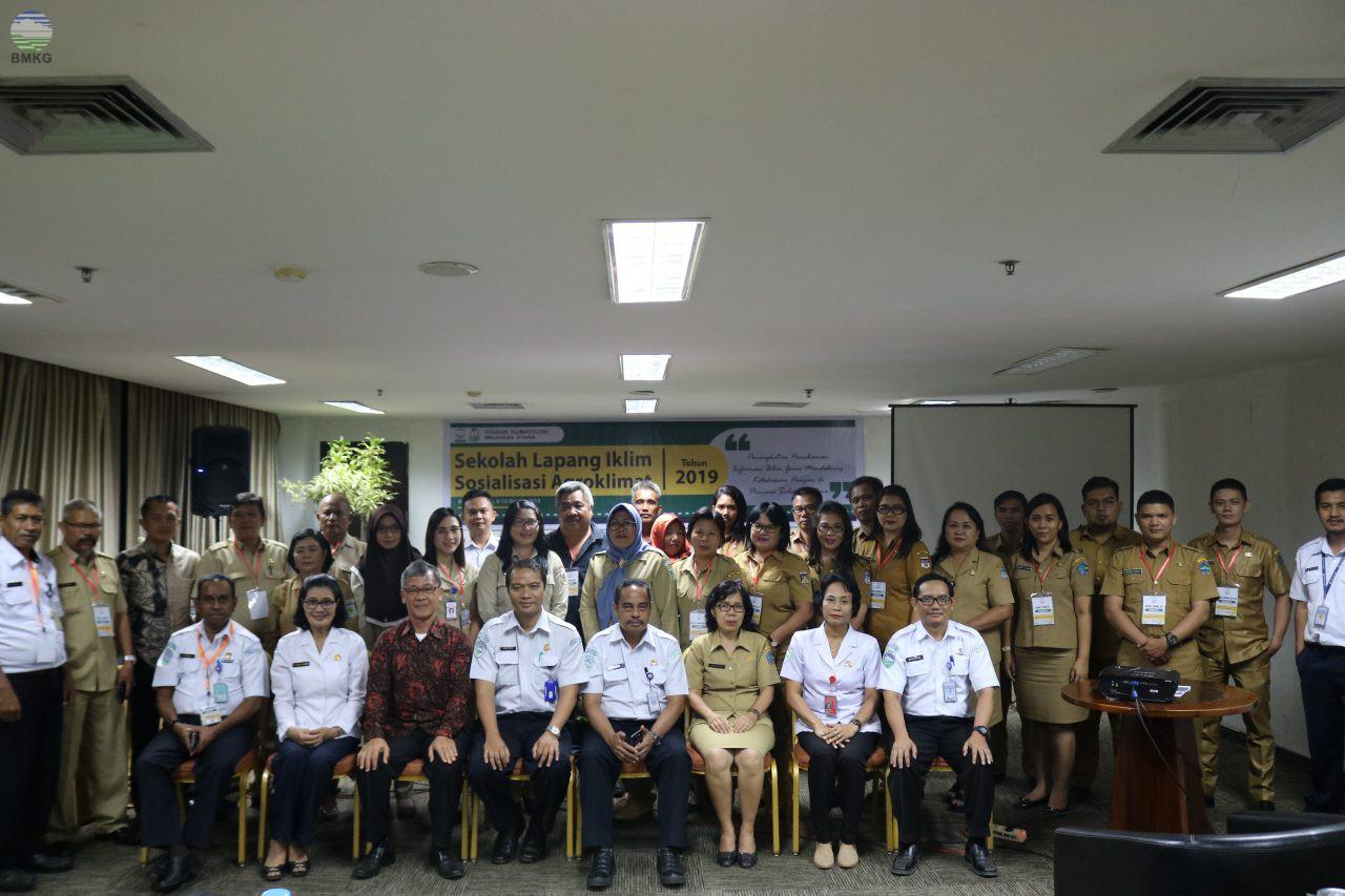 Sekolah Lapang Iklim dan Sosialisasi Agroklimat Provinsi Sulawesi Utara Tahun 2019
