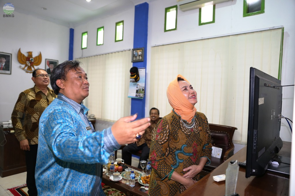 Kunjungan Kerja Kepala BMKG di UPT Sumatera Barat