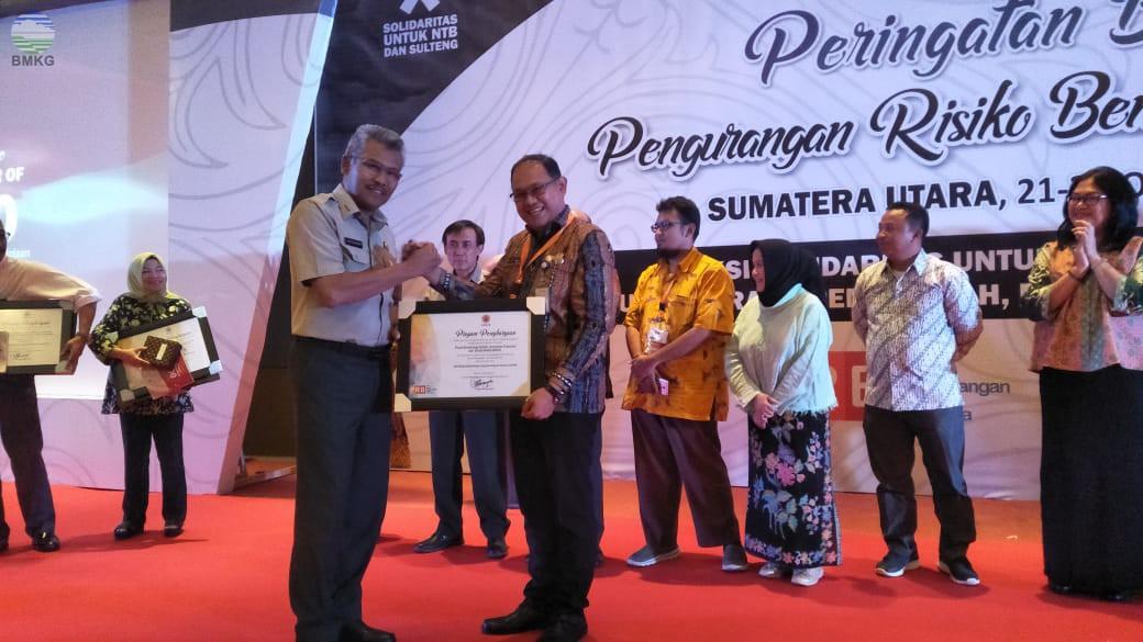 Juara 2 Booth Terbaik Disabet BMKG dalam Pameran PNPRB