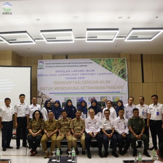 Sosialisasi Agroklimat Provinsi Lampung Tahun 2019