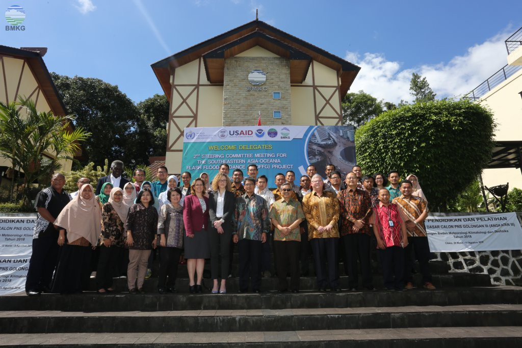 The 2nd Steering Committee Meeting For the Southeastern Asia Oceania Flash Flood Guidance (SAOFFG) Project