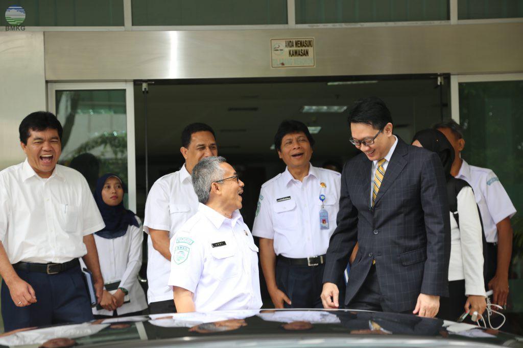 KBMKG Terima Kunjungan Deputi Bidang Kedaulatan Maritim