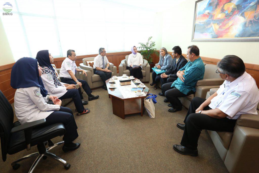 Kunjungan Courtasy ICG/IOTWMS, Kenalkan Tsunami Evacuation