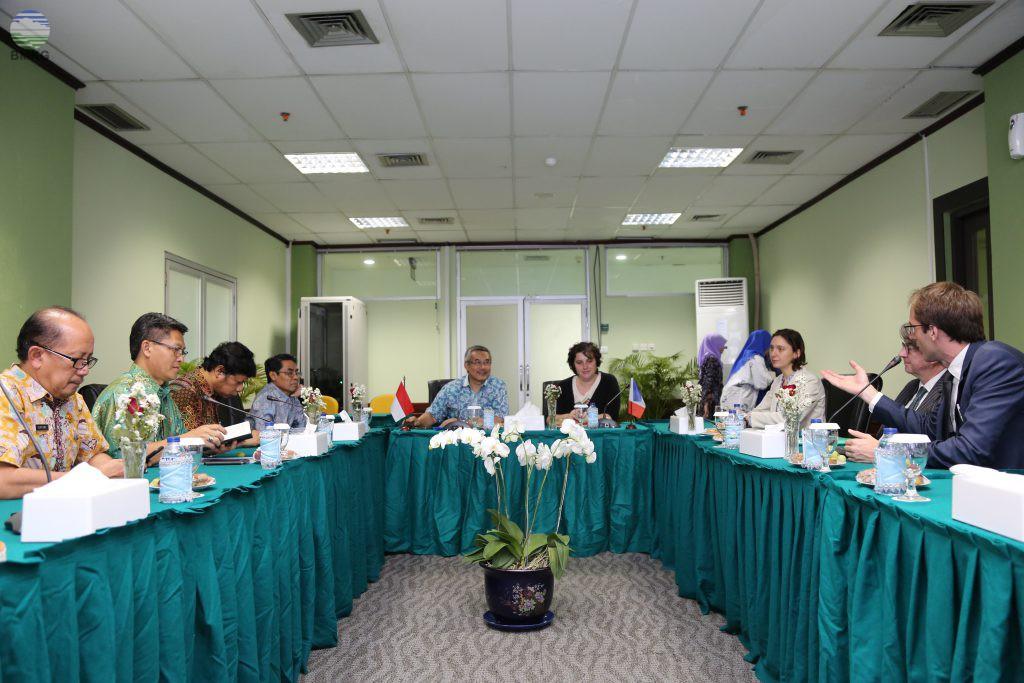 Kunjungan Delegasi Pemerintah Perancis Ke Indonesia