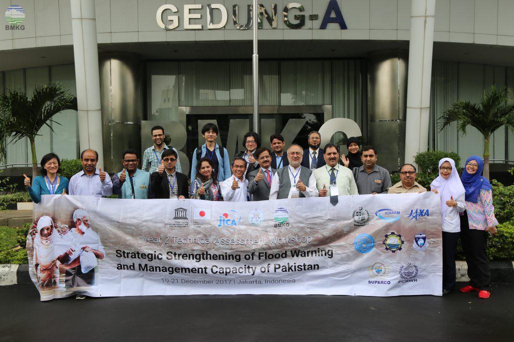 Kunjungan Peserta Workshop UNESCO ke BMKG
