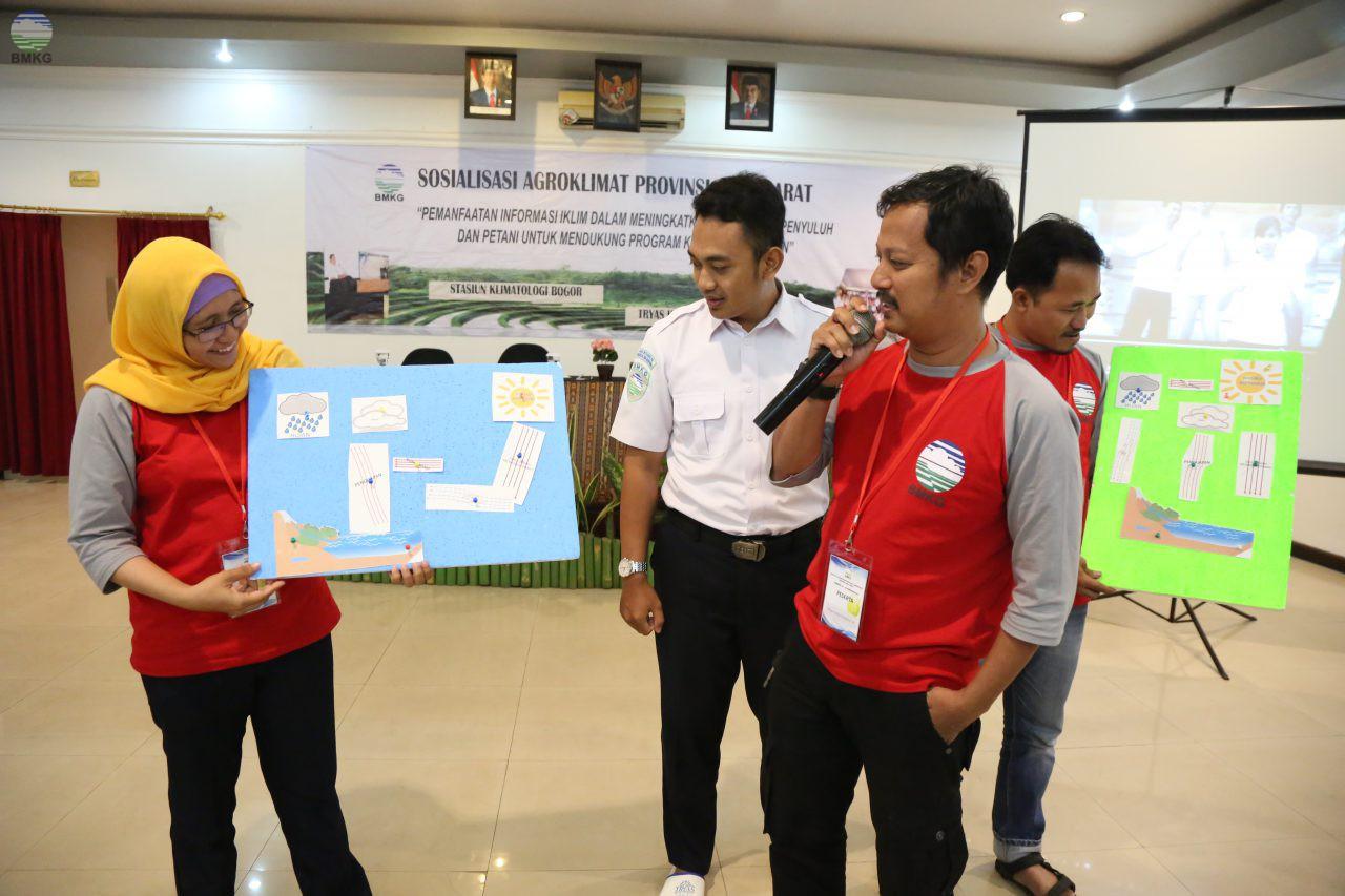 Stasiun Klimatologi Bogor Selenggarakan Sosialisasi Agroklimat di Cirebon